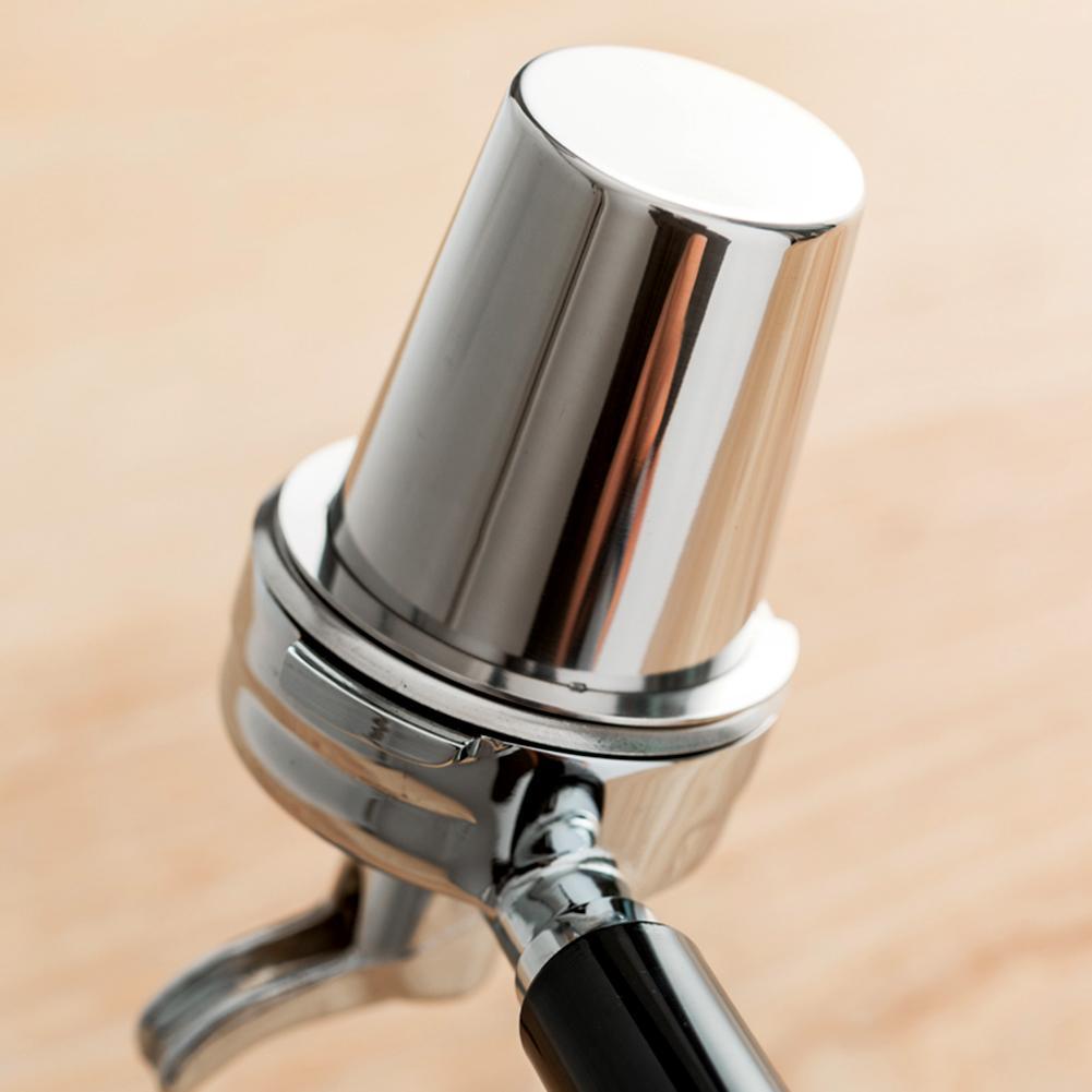 دعم دروبشيبينغ الفولاذ المقاوم للصدأ القهوة الجرعات كوب مسحوق المغذية جزء ل 58 مللي متر ماكينة إسبريسو الجرعات كوب