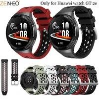sport silicone 22mm watch strap for huawei watch gt 2e original smart watch band replacement gt2e wristband bracelet belt correa