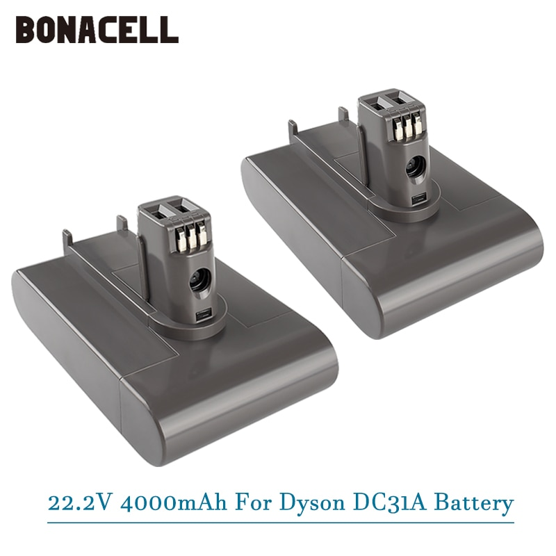 (النوع أ) بطارية تفريغ ليثيوم أيون 22.2 فولت 4000 مللي أمبير في الساعة لدايسون DC35 DC45 DC31 DC34 DC44 DC31 الحيوان DC35 الحيوان 917083-01 L50