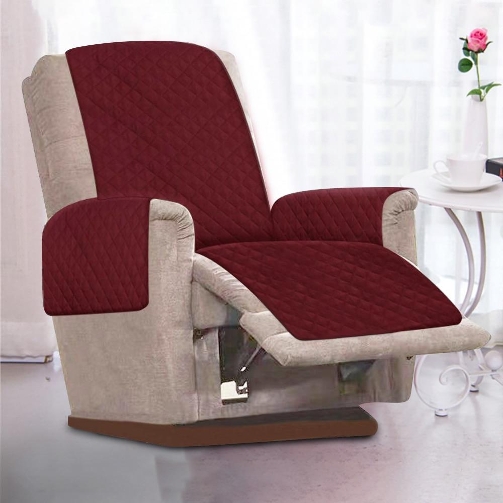 Sofa Couch Abdeckung Stuhl Werfen Haustier Hund Kinder Matte Möbel Protector Reversible Abnehmbarer Armlehne Hussen