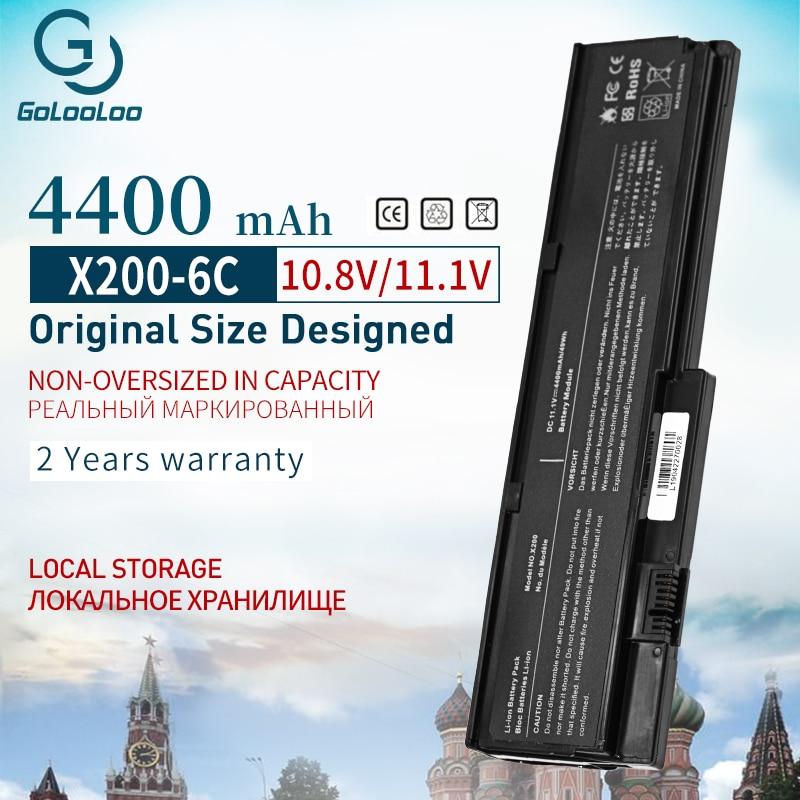 4400mah 11,1 V batería para portátil LENOVO ASM 42T4537 42T4543 FRU 42T4536 42T4649 42T4837 para ThinkPad X200 X201 X201s X201i