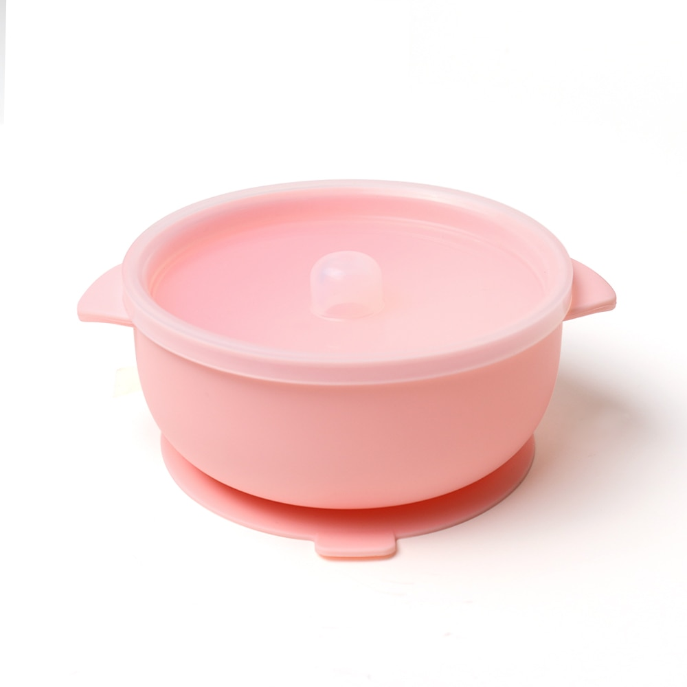 2020 Microwave Safe Feeding Suction Silicone Bowl Baby