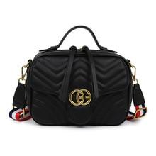 bags for Women 2020 new messenger bag fashion handbag rhombus embroidery small fragrance wide shoulder wild tassel bag purse