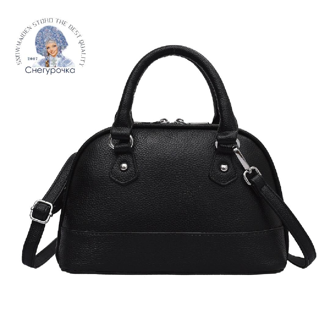 حقيبة يد جلد طبيعي للنساء 2021 تصميم جديد الرجعية حقيبة كتف الموضة الكلاسيكية الفاخرة حقيبة ساعي حقيبة يد سوداء جلدية