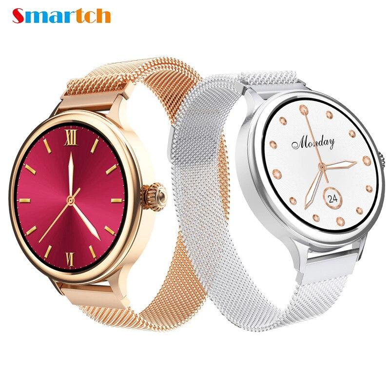 H58 New Luxury Smart Watch,Fitness Bracelet Women Blood Pressure Heart Rate Monitoring Wristband,Lady Watch, Gift Smartwatch HM4