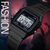 Часы наручные мужские светодиодные, Роскошные Аналоговые Цифровые Автоматические светящиеся механические Спортивные в стиле милитари