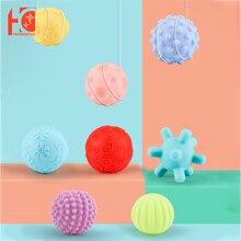 Baby Toy Touch Ball 0 12 13 24 months Rubber Textured Hand Sensory Training and Massage Soft Ball Development Children Ball Toys