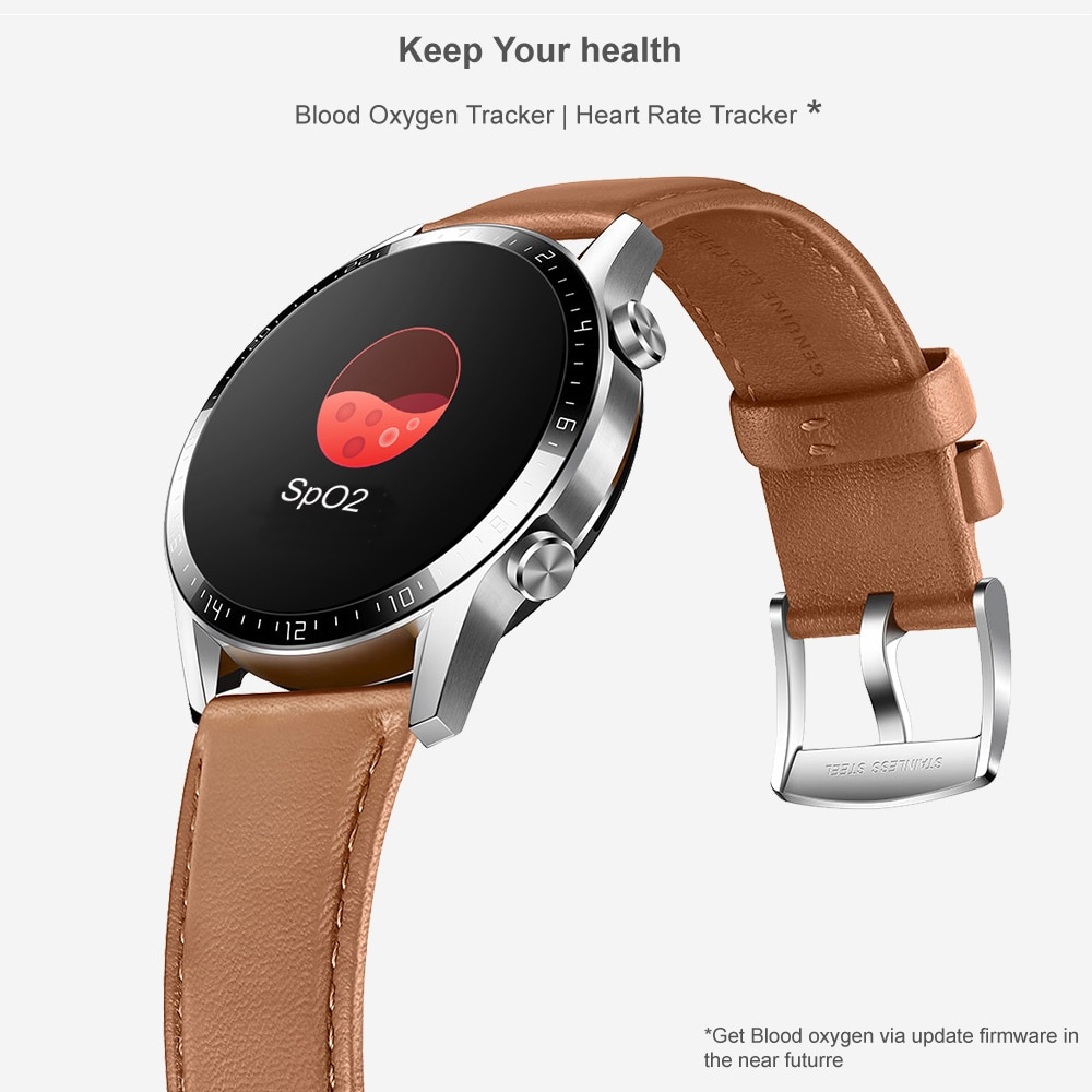Huawei Watch GT 2 GT2 46mm Global Version Bluetooth 5.1 14 Days Battery Life Phone Call Heart Rate Android iOS Smart Watch