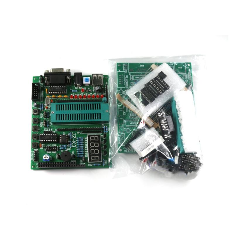 JZ-K3 práctica de soldadura 51 MCU Placa de desarrollo sistema de aprendizaje tablero de prueba Kit de tablero de bricolaje