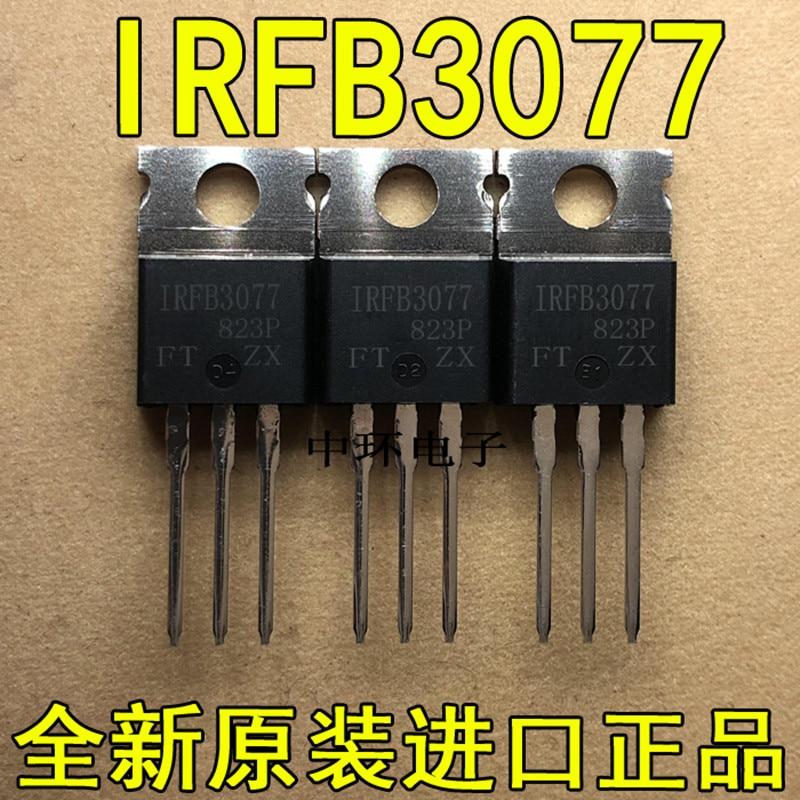 10 PCS IRFB3077PBF IRFB3077 TO220 210A 75V MOS FB3077 TO220