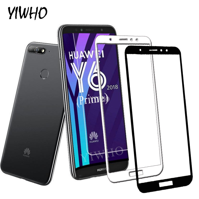 Protective Glass for Huawei Y6 Prime 2018 Glass on Y 6 Prime 2018 Honor 7a Pro 7c Screen Protector Tempered Glas Protection Film