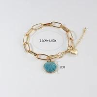 chenfan pearl bracelet for women female flower pearl bangles charms bracelet fashion women jewelry friends accessories jewellery