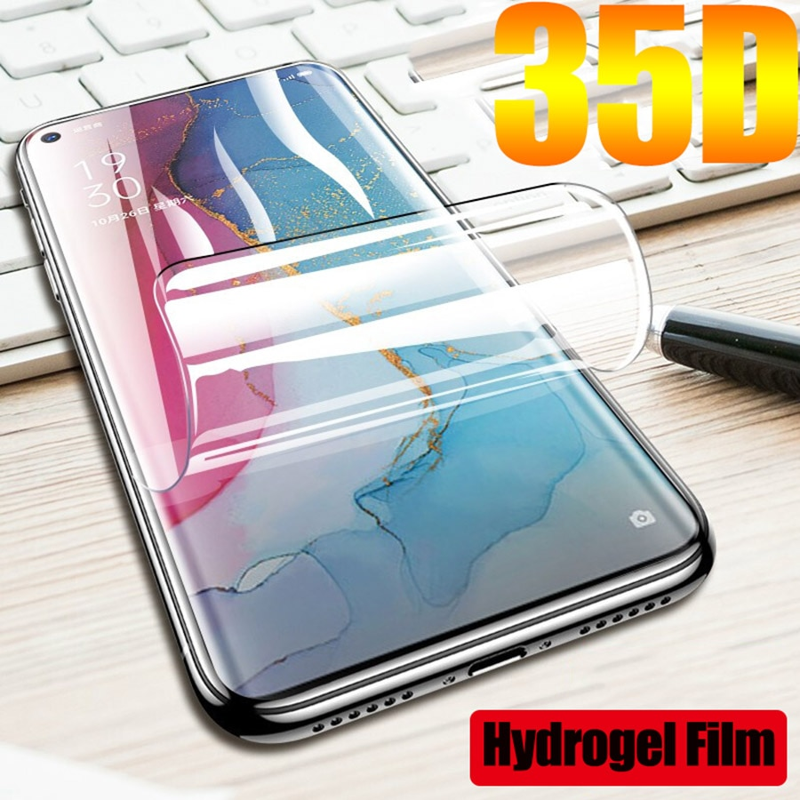 Case For OPPO A91 A8 Hydrogel Film  Screen Protector 9H Premium Not Glass Protective Film