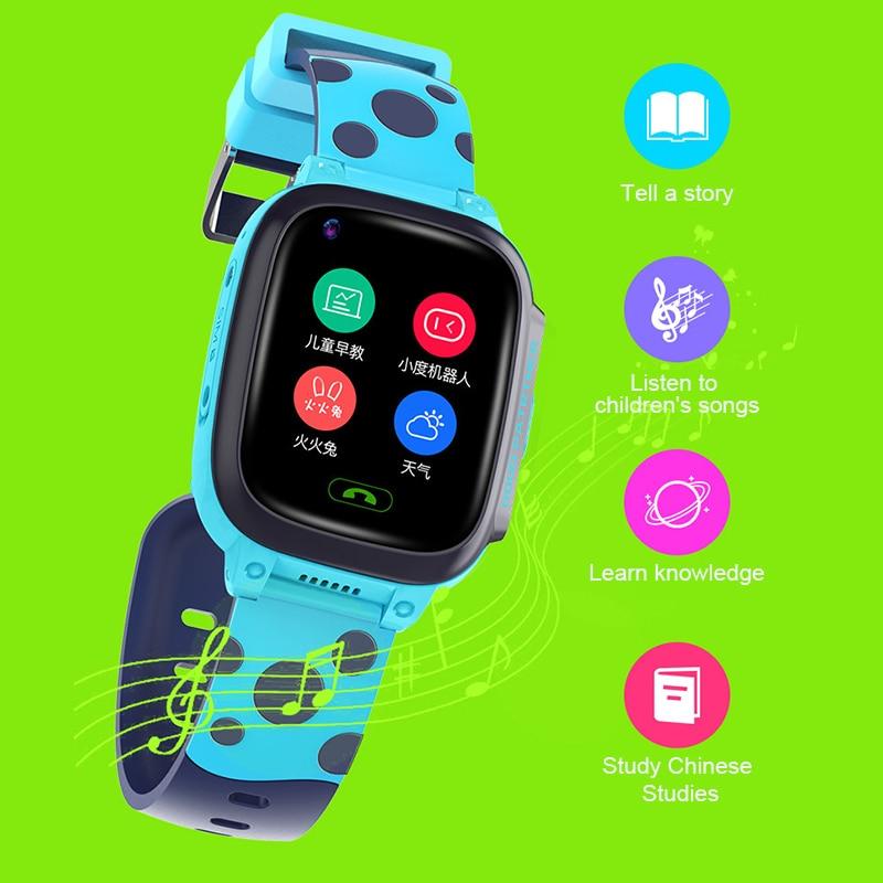 Y95 4G الأطفال ساعة يد ذكية بجهاز تتبع مقاوم للماء HD مكالمة فيديو سيم بطاقات واي فاي LBS الموقع SOS ساعة أطفال هاتف ذكي PK A36E