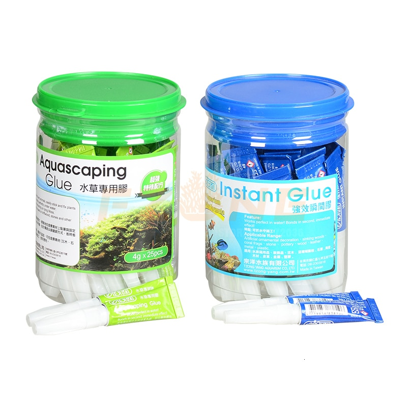 ISTA Aquarium Instant Coral Glue Moss Glue Rock Glue Can Used Under The Water Frags Sps Base Fixed To Rock Tropical Plant Tank