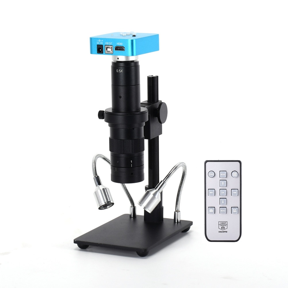34MP 2K промышленный цифровой микроскоп камера с HDMI USB выход 180X C-mount объектив и подставка JDH88
