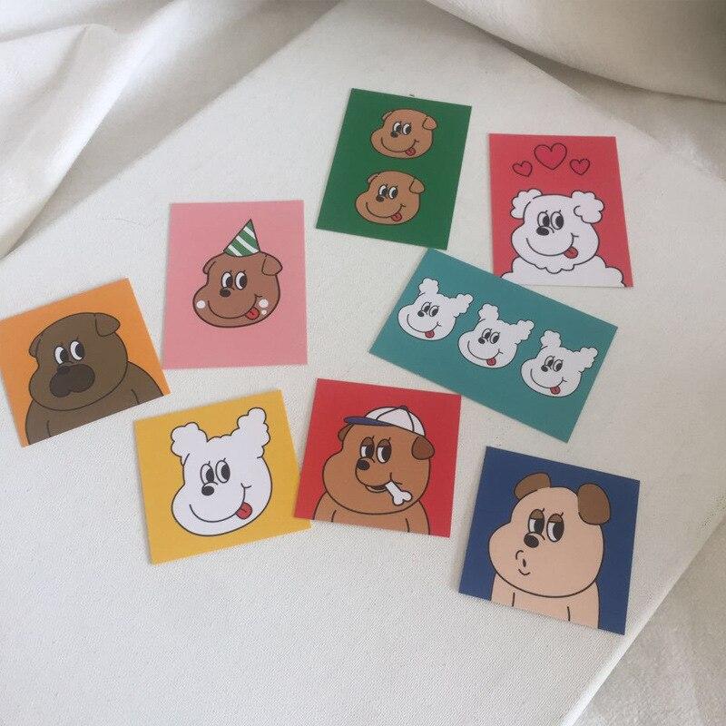sixone-tarjetas-decorativas-creativas-para-perros-tarjetas-decorativas-decoracion-de-pared-accesorios-de-tiro-traje-de-pintura-decorativa-8-juegos