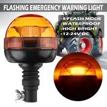 E9 Led Beacon Strobe Light Amber Emergency Signal Light Safety Strobe Flashing Lamp Warning Traffic light for School Bus Tractor