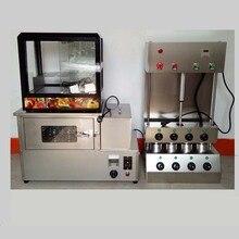 whole set  Kono Pizza Cone Oven Machine with Pizza Cone Moulding Machine for free on sale