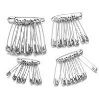50pcslot high quality stainless steel safety pins diy sewing tools accessory needles large safety pin small brooch wholesale