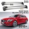 Barre de toit en alliage d'aluminium verrouillage de ceinture spécial pour mercedes-benz CLA 2015 + 2 pièces