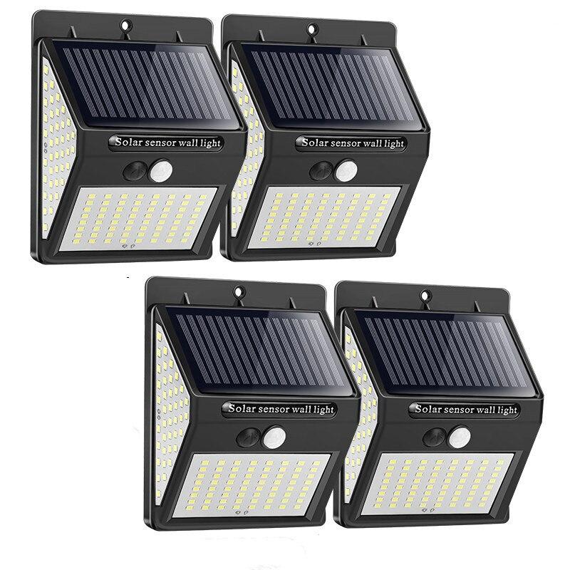 140 100 светодиодный солнечный светильник уличный светильник на солнечной энергии с движения PIR Сенсор солнечной энергии солнца светильник ул...