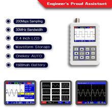 Nouveau haute qualité 2031H Portable petit Oscilloscope numérique Portable 30M largeur de bande 200MSps FNIRSI-2031H