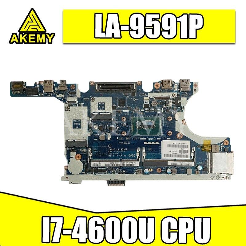 LA-9591P płyta główna laptopa do For DELL Latitude E7440 oryginalna płyta główna I7-4600U