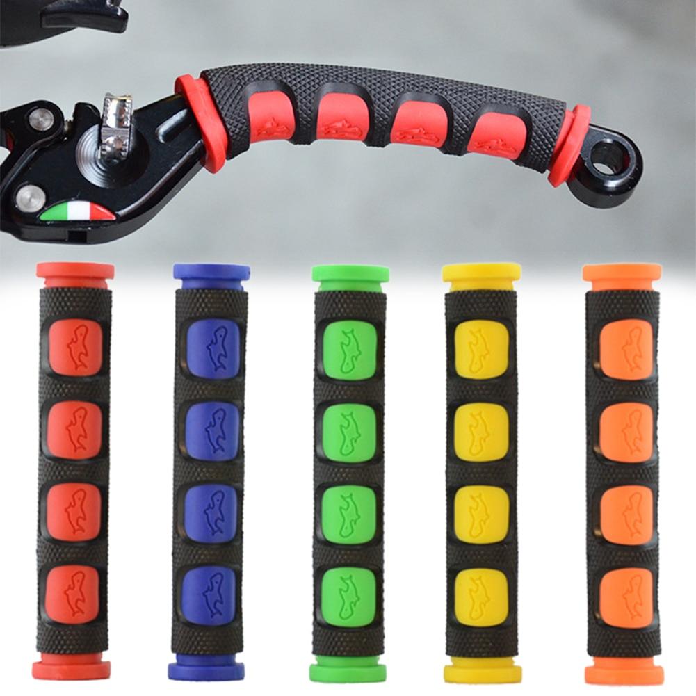 Luva macia e antiderrapante de silicone, capas de proteção para bicicleta e motocicleta, equipamento de proteção boutique, venda no atacado