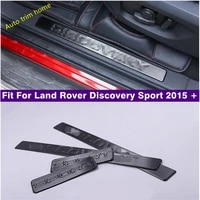 stainless steel door sill scuff plate fit for land rover discovery sport 2015 2021 welcome pedal trim car styling accessories
