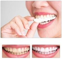 Orthèse de dents supérieure et inférieure couverture de blanchiment des dents placages blanchissant confortable