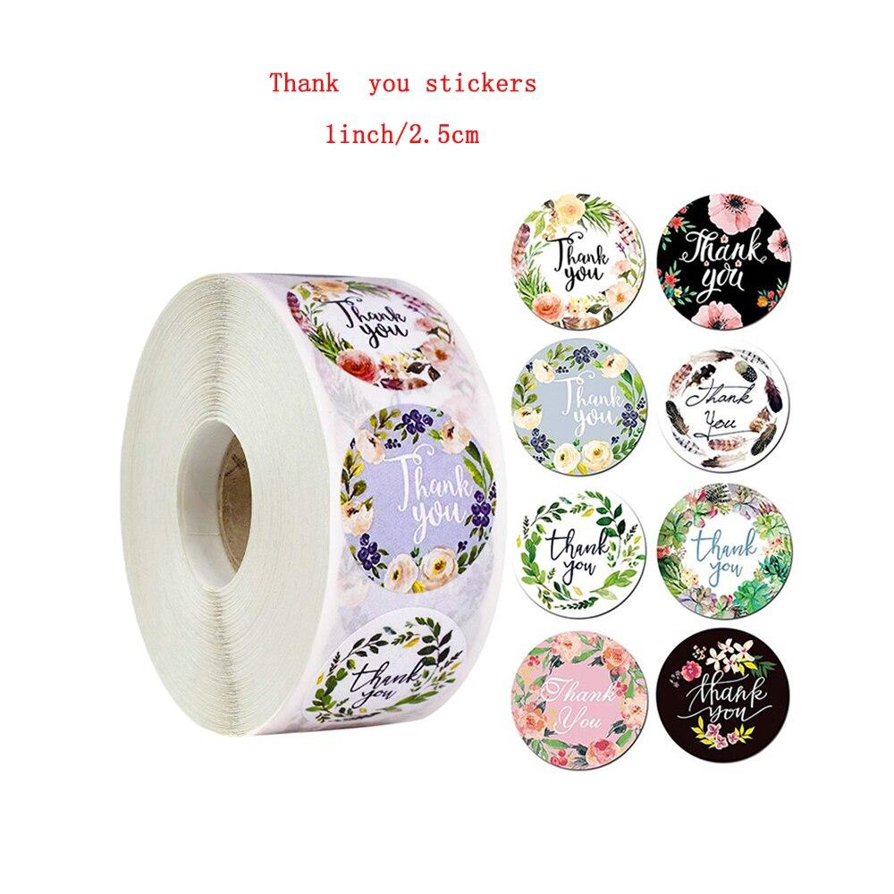 8-tipos-de-etiquetas-imprimibles-para-gracias-pegatina-florales-papel-de-regalo-de-1-pulgada-suministros-de-papeleria-para-fiestas-de-cumpleanos