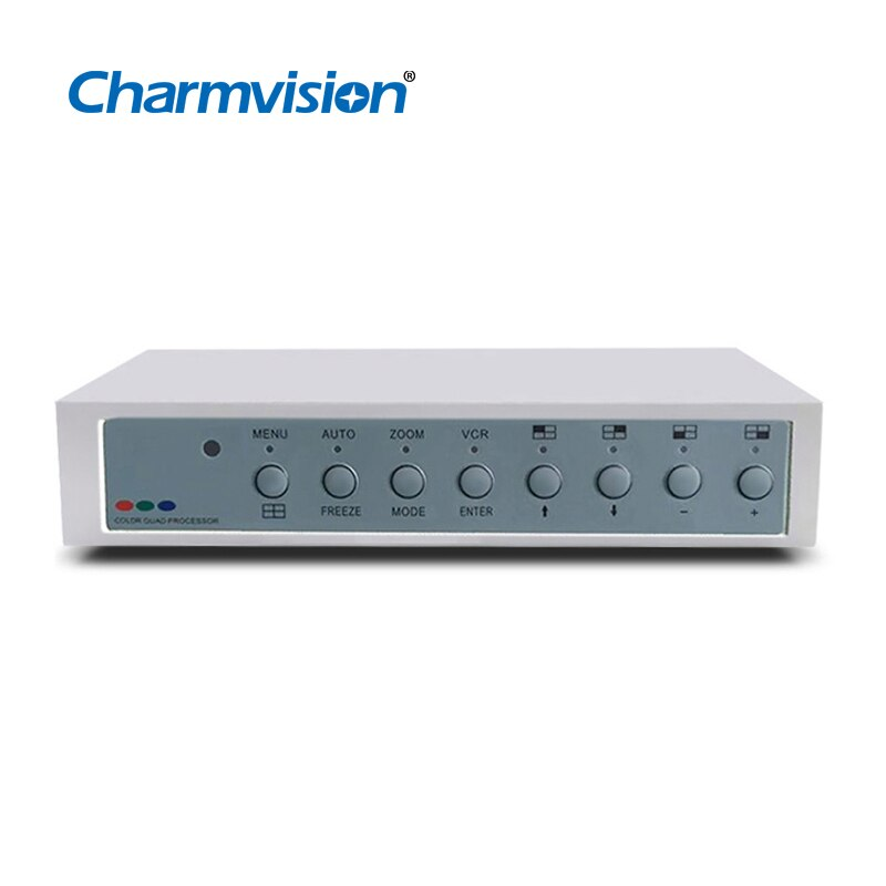 Charmvision-فاصل شاشة VP41AVH 4 ، HD 1080P ، BNC TVI AHD CVI ، رباعي الشاشة ، مع VGA ، HDMI ، CVBS