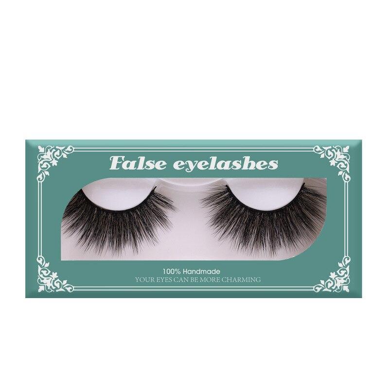 Fashion Mink 3D hair false eyelashes thick natural look 100% handmade fake lashes soft & vivid 300pcs/lot DHL Free