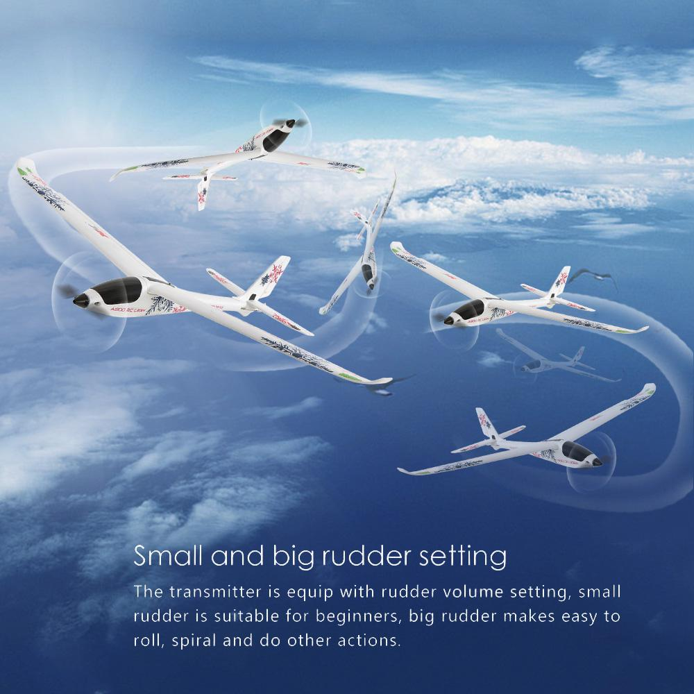 WLtoys RC Plane XK A800 4CH 780mm 3D6G System RC Glider Airplane Compatible Futaba RTF Push-speed Gliders Fixed Wing Plane Toys enlarge