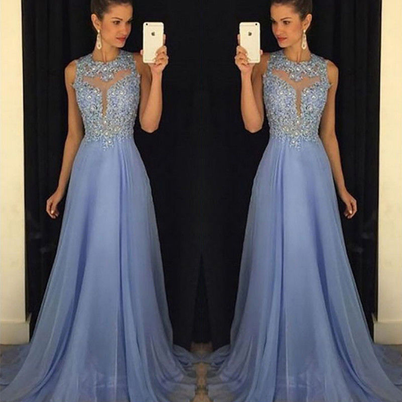 Fashion Wedding Evening Ball Gown Party Prom Elegant Long Dress Women Clothes Ladies Sexy Women Form