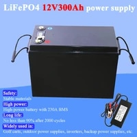 land voyager 12v 200ah 280ah 300ah lifepo4 battery pack with 150a bms 12 8v battery for e scooter rv solar energy storage system
