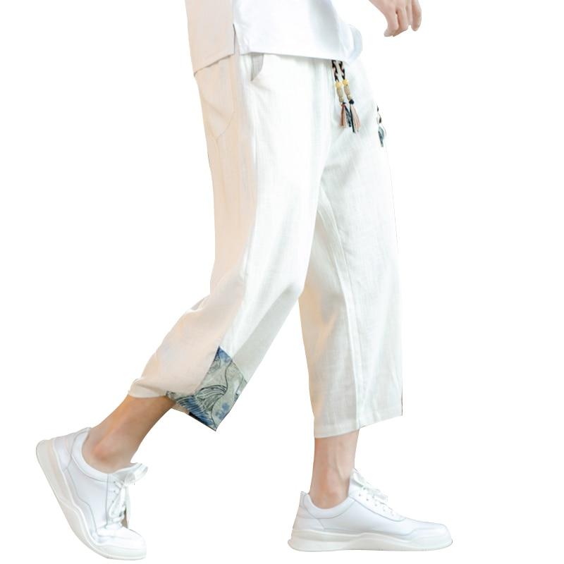 Men's Black Cotton Harem Harem Pants Black Pants Comfortable Casual Loose Japanese Trousers Joggers black harem pants devil fashion gothic loose trousers steampunk black casual draped pants irregular breeches