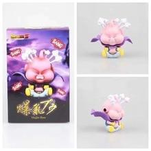 11cm Dragon Ball Z Majin Buu énervé grosse forme assis Ver. Figurine en PVC DBZ Goku Buu modèle de combat avec boîte