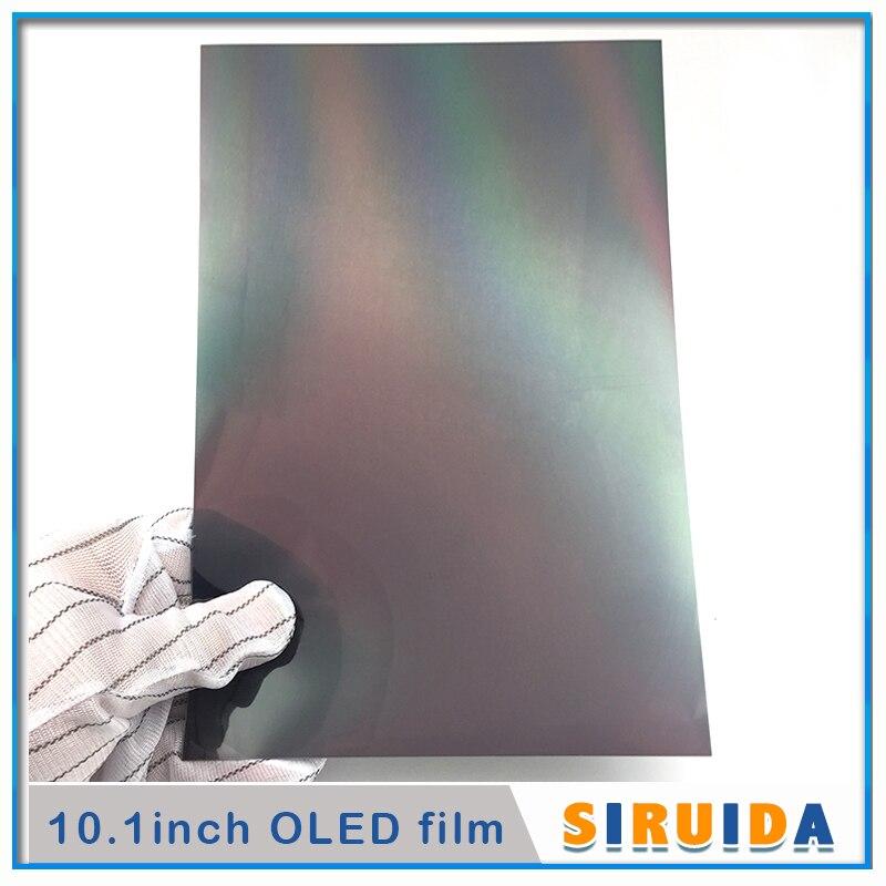 10 piezas 10,1 pulgadas Gran Universal LCD pantalla OLED de película polarizador para Samsung Nota 10 para HUAWEI P30 para oneplus 7 pantalla LCD