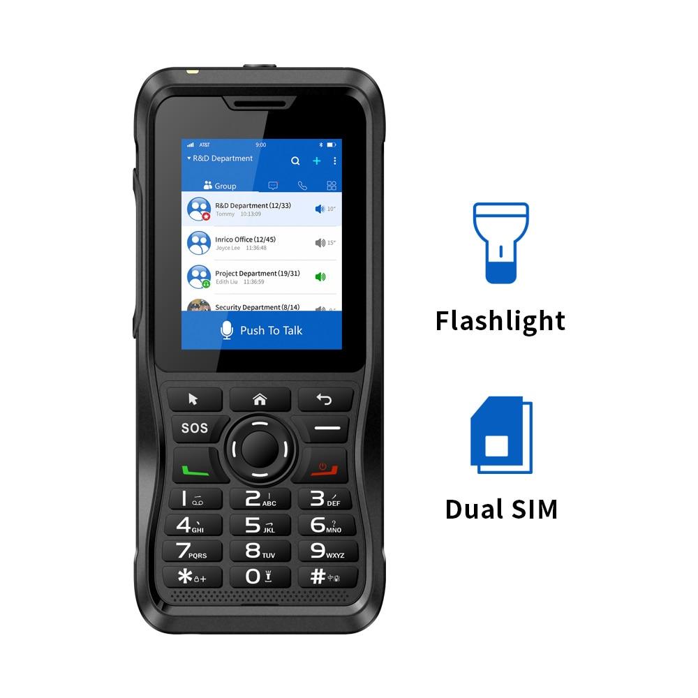 Inrico T310 best walkie talkie zello app Network wireless intercom NFC GPS Touch Screen poc talk radio Mobile walkie talkie