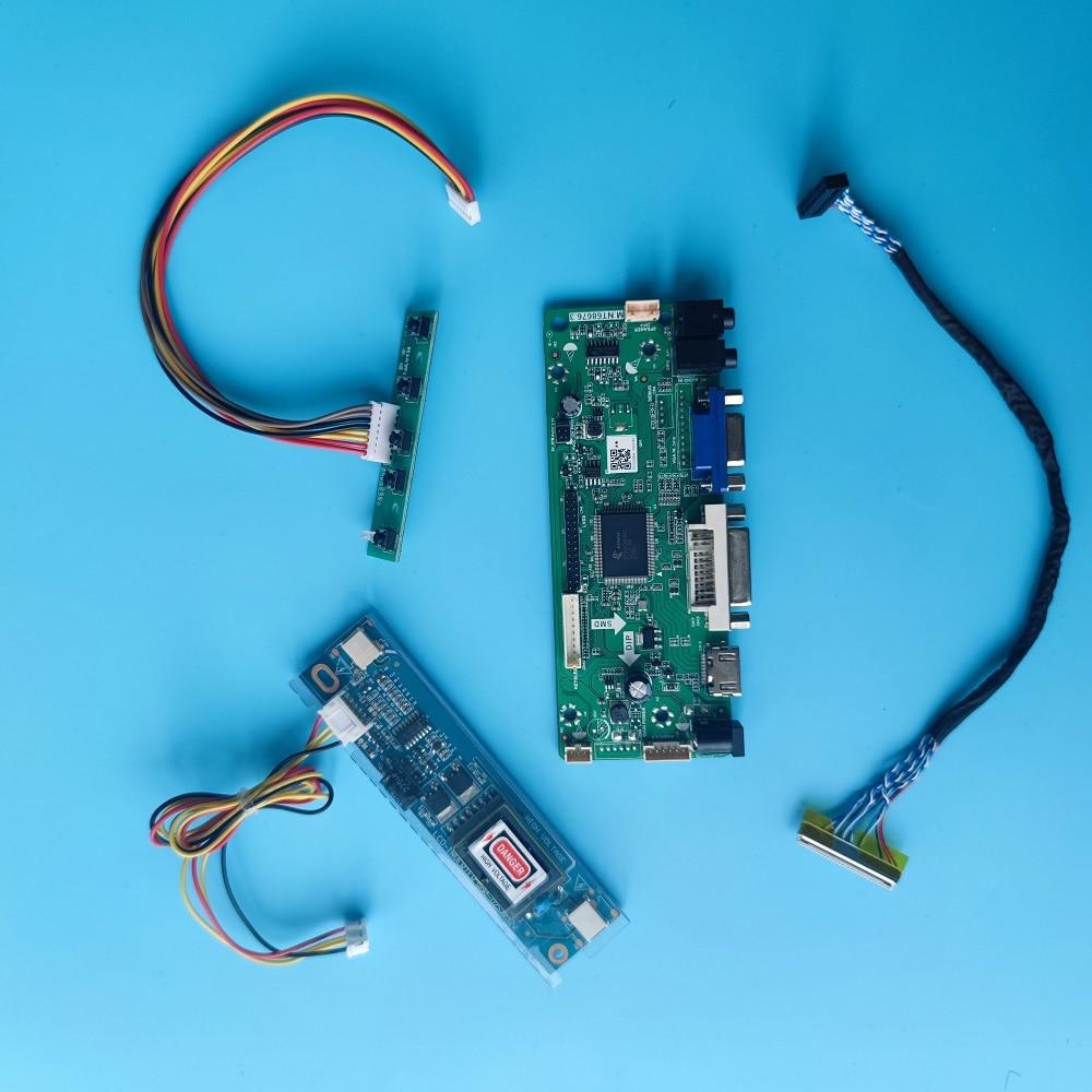 DVI لوحة تحكم M.NT68676 الصوت LCD LVDS عدة بطاقة ل LTN184HT04-T01 1920X1080 18.4
