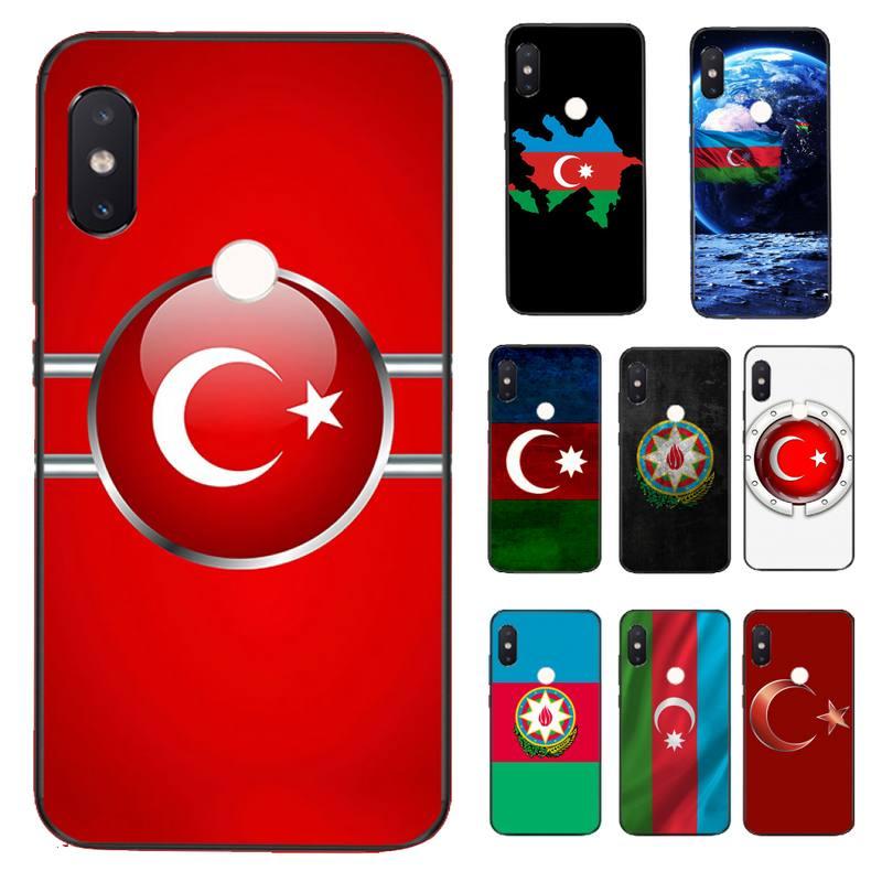 Чехол для телефона FHNBLJ azerbaian buta с флагом, чехол для Xiaomi Redmi 5 5Plus 6 6A 4X 7 7A 8 8A 9 Note 5 5A 6 7 8 8Pro 8T 9