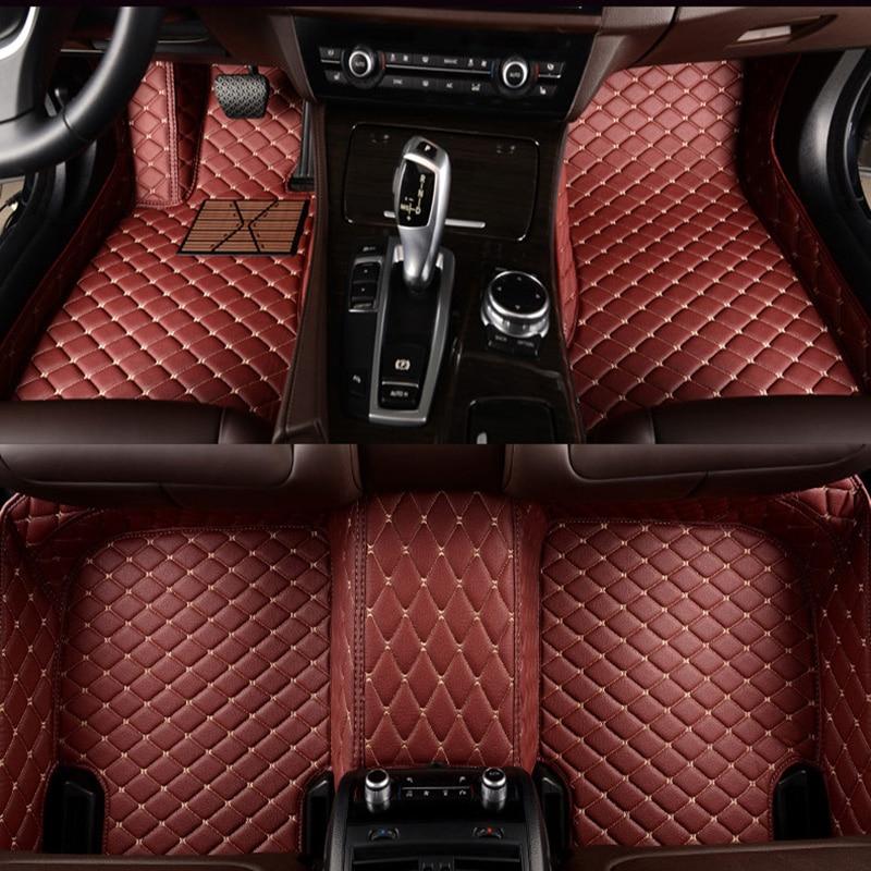 kalaisike Custom car floor mats for Cadillac all models SRX CTS Escalade ATS CT6 XT5 CT6 ATSL XTS SLS car accessories styling enlarge