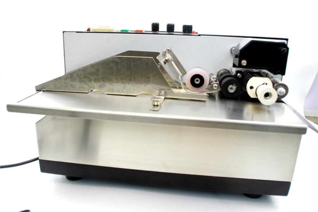 Máquina de codificación de rollos de tinta MY-380F, impresora de código de tinta sólida