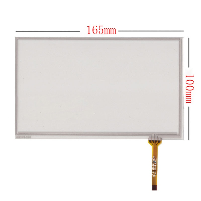 Nuevo 7 pulgadas Digitalizador de pantalla táctil panel fantasma DVM 8500 de 8500G 165*100mm