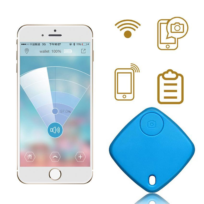 Wireless Bluetooth Tracker Smart Tag Child Bag Wallet pet Key Finder GPS Locator 2 Color Anti-lost alarm Reminder