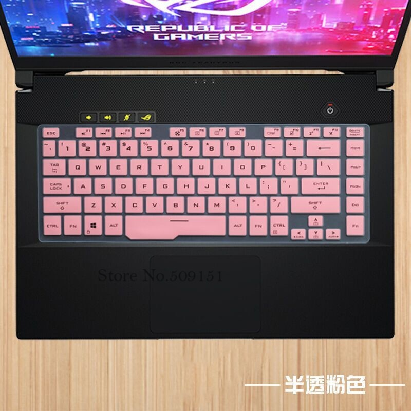 Para Asus ROG Zephyrus G GA502 GA502DU GA502D M GU502DU GU502GU Zephyrus S GX502 GX502GV GX502GW teclado del ordenador portátil Protector de la cubierta