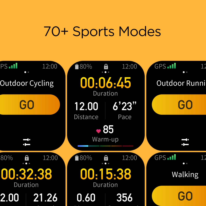 Глобальная версия Amazfit GTS 2 мини GPS Smartwatch активно-матричные осид, Дисплей 70 спортивных режимов монитор наблюдения за сном, умные часы для Android iOS-5
