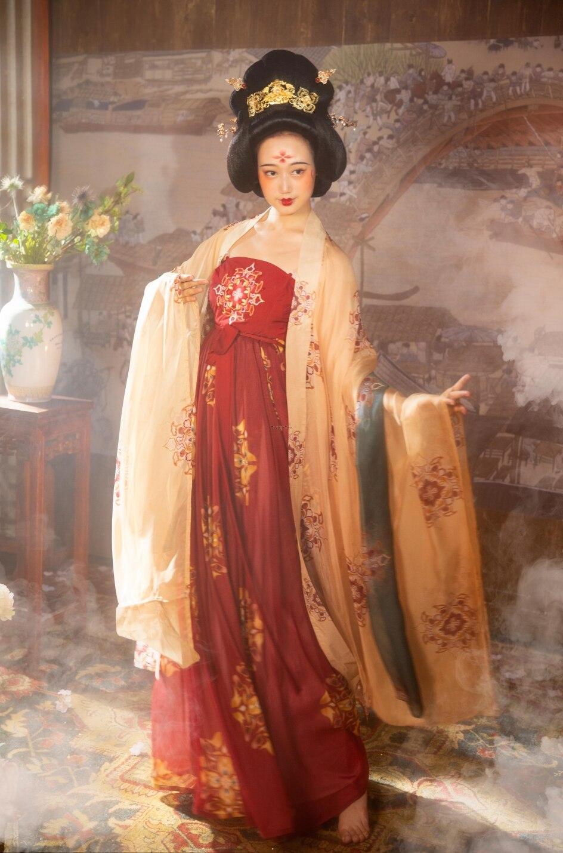 2021 hanfu الوطنية حلي القديمة الصينية تأثيري حلي الصينية القديمة hanfu النساء hanfu الملابس سيدة الصينية المرحلة اللباس